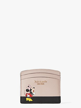 kate spade new york x minnie mouse cardholder