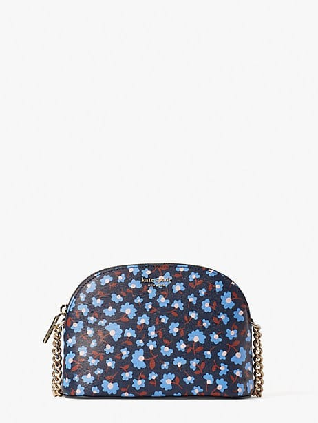 spencer party floral small dome crossbody