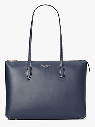 all day large zip-top tote