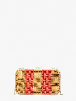 kitt wicker clutch
