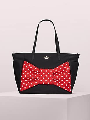 kate spade new york x minnie mouse bethany baby bag