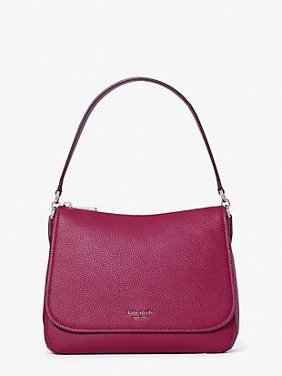 polly medium convertible flap shoulder bag