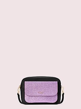 make it mine customizable camera bag glitter pouch