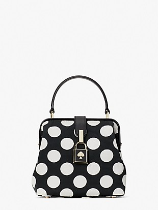 remedy bikini dot small top-handle bag