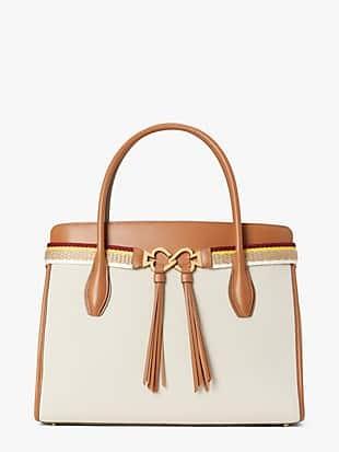 toujours canvas large satchel