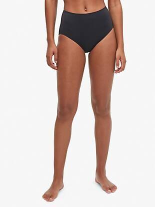 Kate spade cabana high-waist bikini bottom