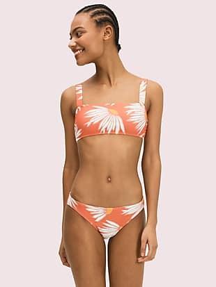 Kate spade falling flower square neck bikini top