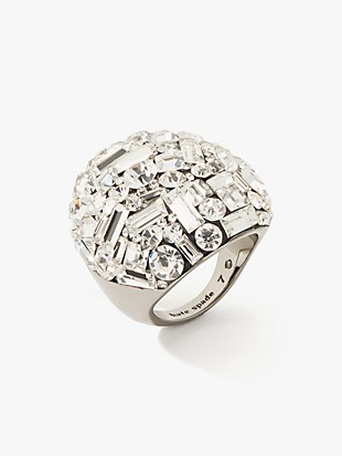 brilliant statements mixed baguette ring
