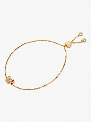 disney x kate spade new york minnie mouse pavé slider bracelet