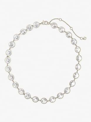 sparkling chandelier short necklace