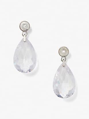 sparkling chandelier drop earrings