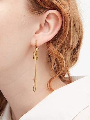 with a twist statement earrings