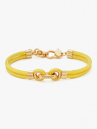 know the ropes cord bracelet
