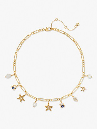 sea star charm necklace