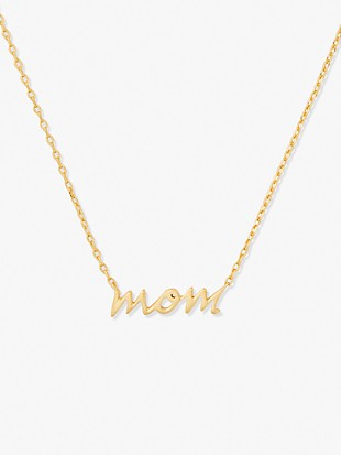 say yes mom boxed pendant