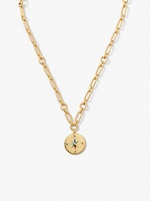 my medallion compass pendant