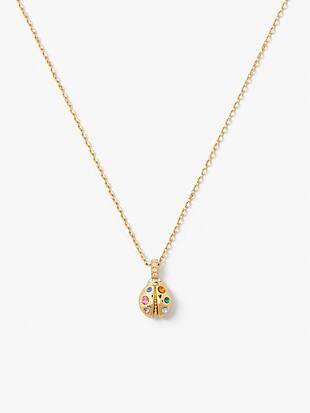 nature walk ladybug mini pendant