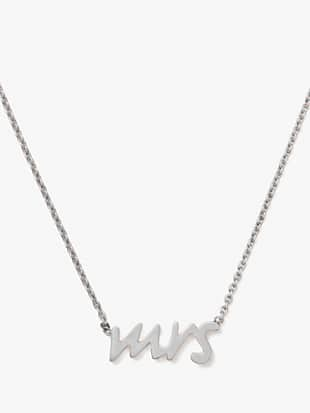 say yes mrs. necklace