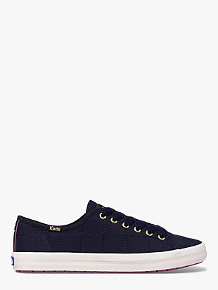 keds x kate spade new york quilted nylon sneakers
