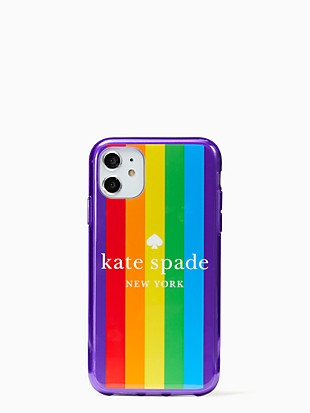 rainbow logo iphone 11 case
