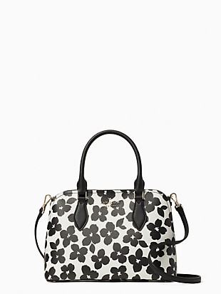 darcy graphic blooms small satchel