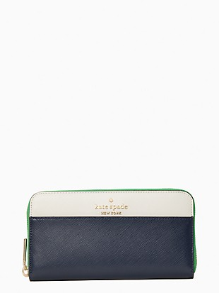 staci colorblock large continental wallet