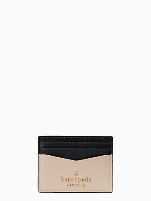 staci colorblock small slim card holder