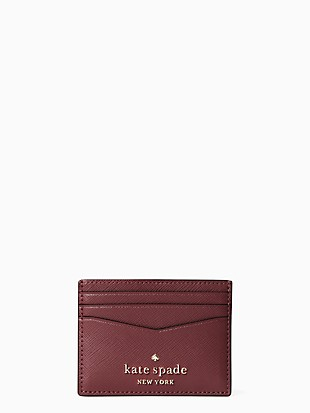 staci picture dot small slim card holder