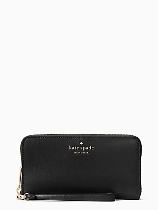 staci large flat continental wallet