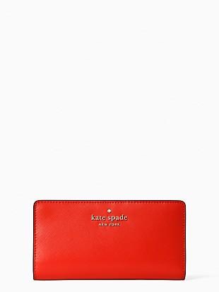 staci large slim bifold wallet
