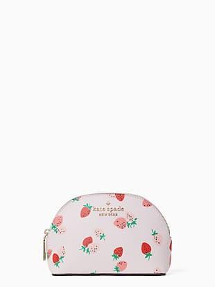 staci wild strawberries small dome cosmetic