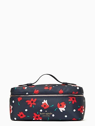 chelsea whimsy floral travel cosmetic