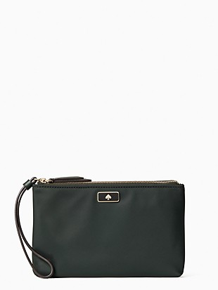dawn medium double zip wristlet