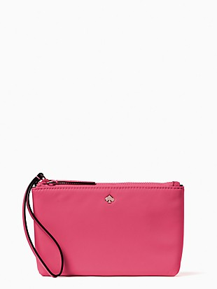 jae medium double zip wristlet