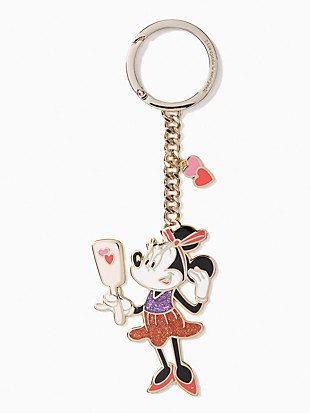 key fobs minnie metal keyfob
