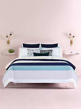 dusk stripe bedding