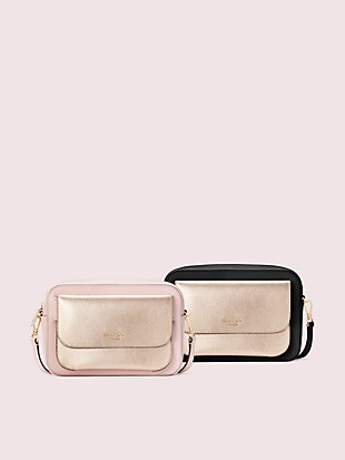 make it mine camera bag and metallic pouch