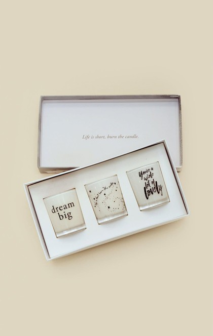 3 CANDLE GIFT PACK | Sale