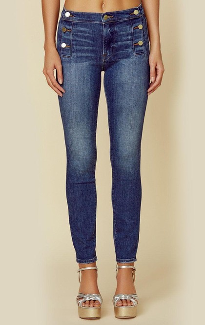 LE HIGH SKINNY SIDE BUTTON | Sale