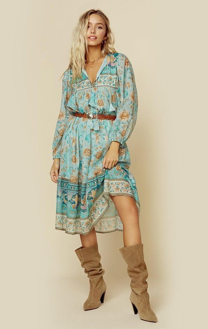 SEASHELL BOHO DRESS | Sale