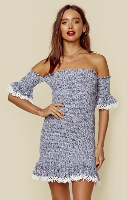 INDIGO FLIRTINI DRESS | Sale