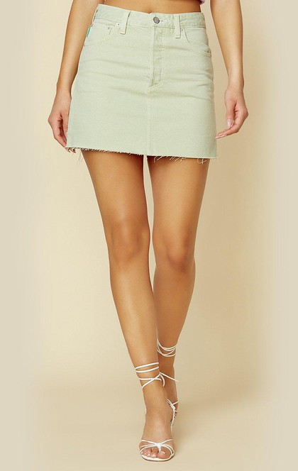 THE COREY HIGH WAIST MINI SKIRT